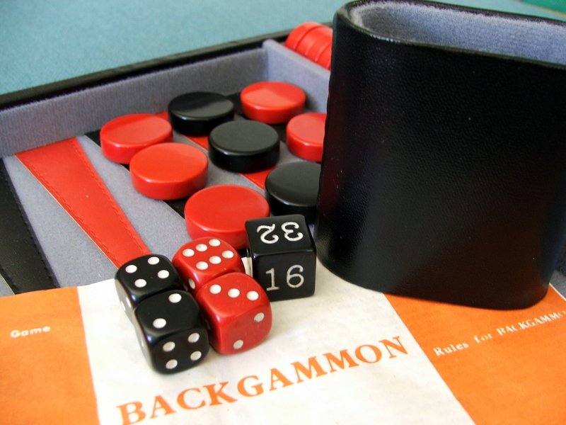 backgammon er hyggeligt